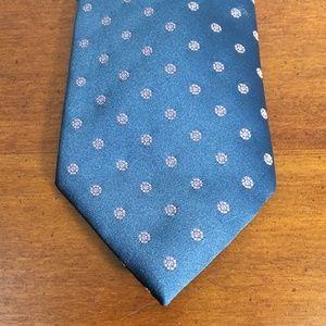 Bellini Di Roma Blue Silk Tie